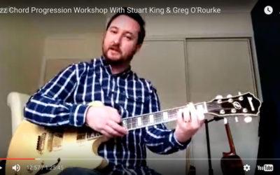 Modern Jazz Chord Progression Workshop with Stuart King (Replay)