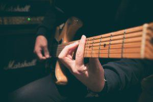 Guitar practice time