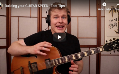 Building your GUITAR SPEED – Fast Tips