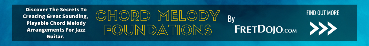 chord melody guitar course