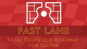 Fast Lane Guitar Exercises Online Course Logo