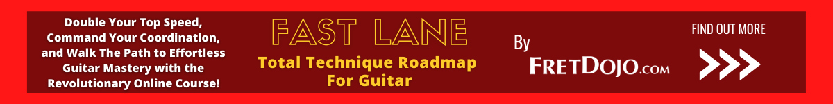 Guitar Exercises Course Fast Lane Banner