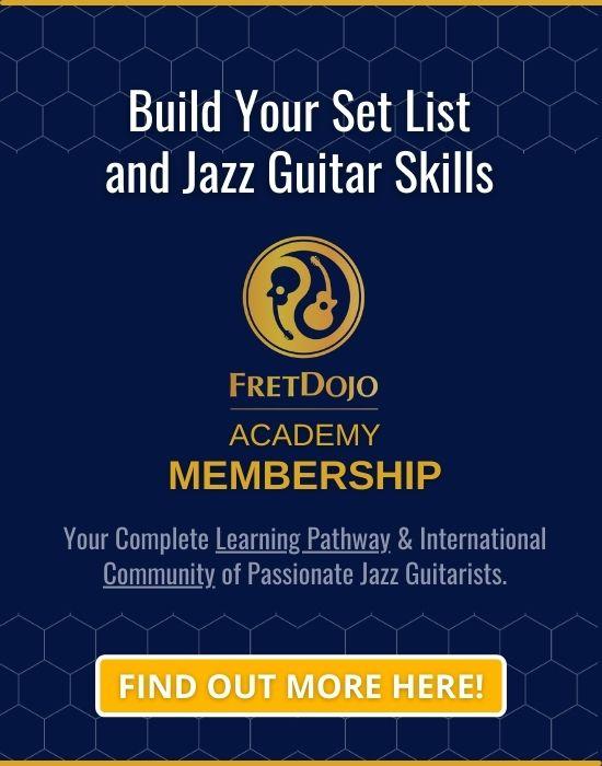 How to play jazz guitar fretdojo academy