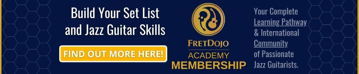 Learn jazz guitar with FretDojo Academy