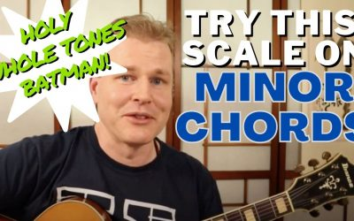 Holy Whole Tones Batman! Try This Scale on Minor Chords